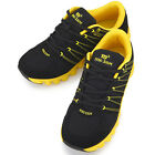 New Miso Zium Black Yellow Mens Sports Club Running Training Sneakers Shoes
