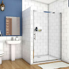 Bathroom Sliding Shower Door Enclosure Cubicle Safety Glass Reversible Design