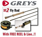 Greys of Alnwick NEW XF2 Fly Rods for Fly Fishing : Trout Fishing : Game Fishing