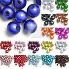 Wholesale Acrylic Round Beads Finding 4mm/6mm/10mm/12mm Choose color free ship