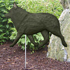 Schipperke Dog Figure Yard Garden Stake. Home Yard & Garden Products & Gifts