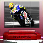 s186 valentino rossi superbike Sport Giant Wall Art Poster A0 picture