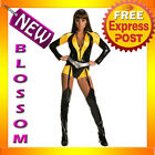 C388 Watchmen Silk Spectre Ladies Superhero Fancy Dress Halloween Costume