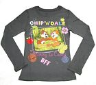 Disney Alvin And The Chipmunks Long Sleeve Shirt Girl Size 7/8 10/12 14 16