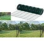 10M/20M/30M/40M X 0.9M GREEN PVC COATED GARDEN BORDER FENCE FENCING WIRE MESH