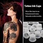 100 Pcs 9MM / 13MM / 18MM Large Tattoo Ink Cups Plastic Caps Supplies