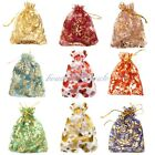 10/100 Gauze Organza Bag Jewelry Packing Pouch Wedding Favor Gift Bags 10x12cm