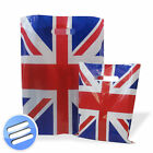 High Quality Union Jack/ Patriotic Design Plastic Patch Handle Carrier Bag/ Bags