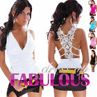 NEW SEXY WOMEN'S LACE TOPS Size 8-10 CLUBBING EVENING LADIES PARTY CASUAL WEAR