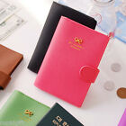 Ribbon Passport Case Cover Ticket Card Holder Travel Mini Wallet Authentic Pouch