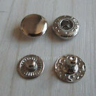 50 100 300 500 Leather craft Rapid Rivet Button Snap Fastener KAM 10mm 12mm 15mm