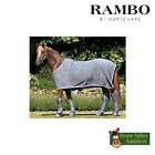 Horseware Rambo Cotton Cooler Rug in Charcoal All Sizes