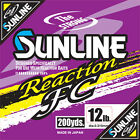 Sunline Reaction FC Stealth Gray Line