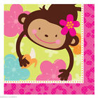 Jungle Monkey Girl Birthday Party Tableware Decorations All Under One Listing PA