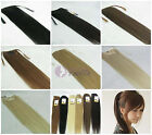 "instant clip-in human hair ponytail extensions, 80g any colors from 16""-28"""
