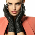 Women's nappa leather gloves Plush Lined Long L106NC