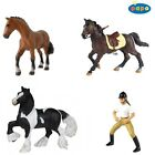 Papo Horse, Pony & Rider Models - Horse Riding Equestrian Toy - Hand Painted NEW