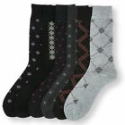 Lot 6 12 24 Pairs Mens Dress Socks Multi Color 10-13 from 5 Styles #Freedom