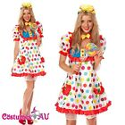 Clown Cosplay Anime Circus Jester Fancy Dress Halloween Ladies Costumes AU