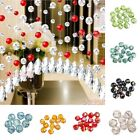 30Pcs 6x6mm Fat Round Faceted Glass Rondelle DIY Crystal Beads