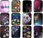 "Amazon Kindle 4 Wi Fi 6"" (Non Keyboard) Case Sleeve Cover Pouch 12 New Designs!"