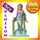 CK20 Little Mermaid Princess Ariel Fancy Dress Up Child Halloween Kids Costume