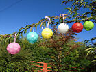 Chinese Round Paper Lanterns Free P&P Party Wedding decorations Mixed Colours UK