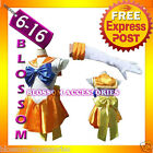 G48 Sailor Moon Venus Sailormoon Costume Cosplay Uniform Fancy Dress + Gloves