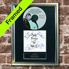 PINK FLOYD The Wall FRAMED AUTOGRAPH CD Reproduction Signed Print A4 Size (13)