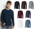 Canvas Mens Size S-2XL Long Sleeve Contrast Stitch Lombard Thermal T-Shirt 3500