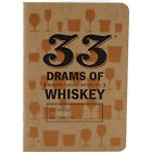 33 Drams of Whiskey Tasting Notebook - Liquor Drinking Log Flavor Wheel Included