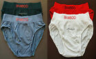"4 Womens SEAMLESS Briefs BAMBOO Fiber Full Coverage US M L Waist 32"" 34"" 36"" 6 7"