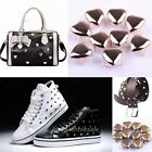 New Heart Shaped Nailhead Stud Rivet Punk Style Shoes Bag Belt Leather Craft
