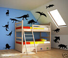 LARGE SIZE  DINOSAUR WALL STICKERS / Kids Room wall art / nursery  Removable S14