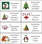 21 PERSONALISED CHRISTMAS LABELS - GIFT TAGS - SELF ADHESIVE