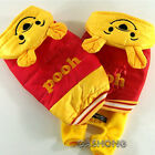 Dog&Cat Clothes Puffy Jackets Pooh Costume Puffer Hoodie Coats_D339