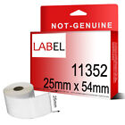 25mm x 54mm 11352 COMPATIBLE WHITE ADDRESS 11352 Printer Labels