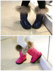 1321 Boutique Patent Leather Winter Boots Fur Trim Fleece Inner Very Pretty