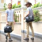 Mens Real leather Backpacks Briefcases Tote Messenger Travel Laptop Bags BNWT