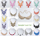 Fashion Women Bib Statement Necklace Necklet Faux Collar Korean Style Party Fit