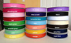 7/8 Solid Grosgrain Ribbon use for hair bows - U pick your color- 5 Yards