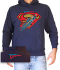 FELPA UNISEX CON CAPPUCCIO SUPERMAN 2 by SamyShop