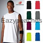 New Balance Mens Size S-3XL Sleeveless Athletic Workout T-Shirt Ndurance Gym Tee image