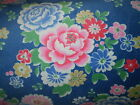 Cath Kidston Norwich Rose Blue Furnishing Fabric Size You Choose NEW
