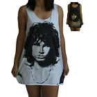 Jim Morrison Vest Tank Top Singlet Sleeveless T-Shirt Dress Mens Womens Ladies