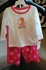 "OshKosh B'Gosh Girl's Polka Dot ""Puppy Love"" Sleepwear - MSRP $26 - Size Choice!"