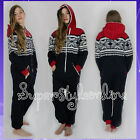 GIRLS Aztec ALL IN ONE Onesie HOODIE PYJAMA Sleepsuit KIDS TEEN AGE 7-13 NEW