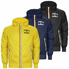 Franklin and Marshall Men's Hooded Jacket in Black, Navy Blue, or Yellow