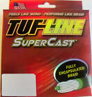 TUF LINE SUPERCAST PREMIUM BRAIDED FISHING LINE  125 YDS GREEN