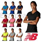 New Balance Womens XS-2XL Workout Running T-Shirt Ladies Gym Sport Tee N7118 NB